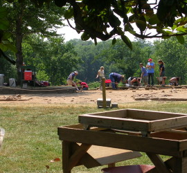 Public archaeology at Ferry Farm, Fredericksburg, Virginia