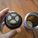 Make cowboy coffee with the screen insert