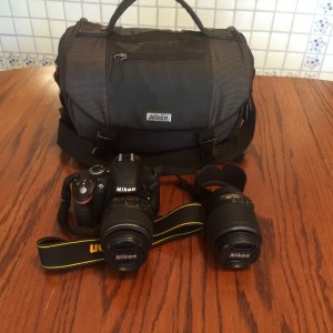 Nikon DSLR D3200 is an awesome field camera