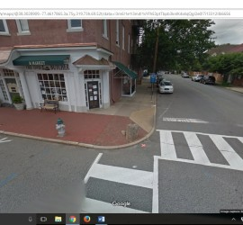 The slave block in Fredericksburg, Virginia echoes from the past